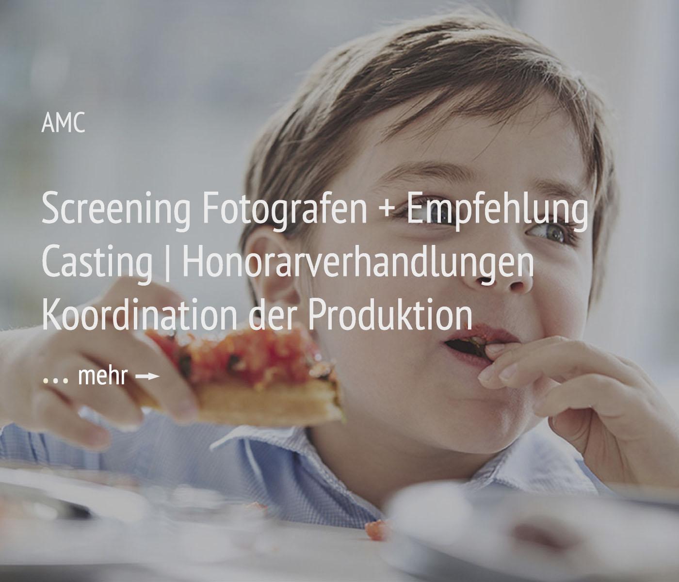 Fotografie + Management + Organisation für das Projekt AMC