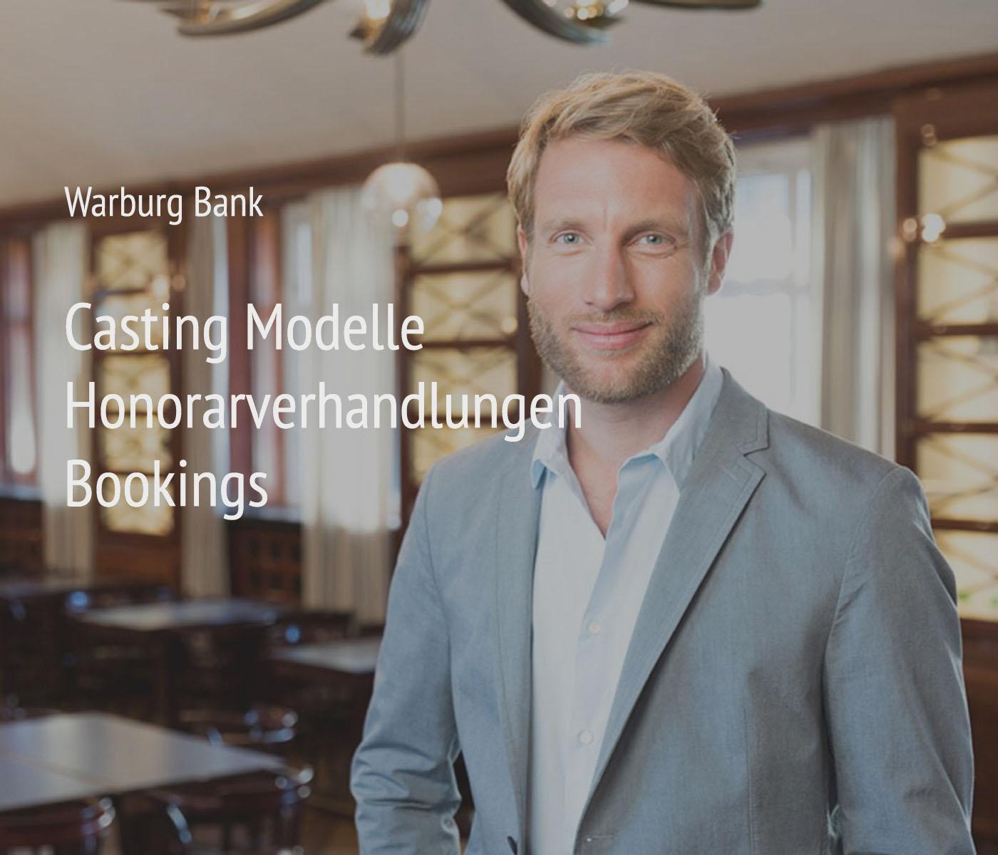 Portraitfotografie von Christian O. Bruch + Management + Organisation für das Projekt Warburg Bank